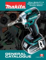 Makita General Catalogue