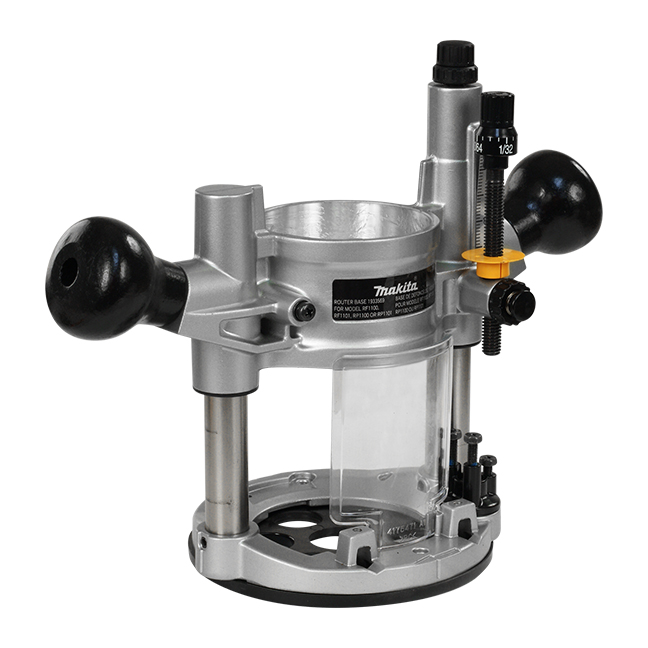 Interchangeable Plunge Side Handle Router Base