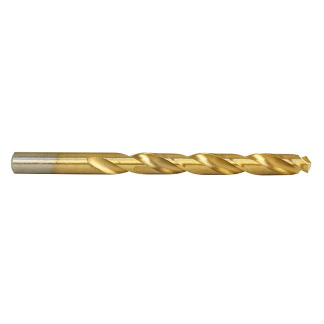 HSS-TiN (Titanium-Nitride) Economy Twist Drill Bits