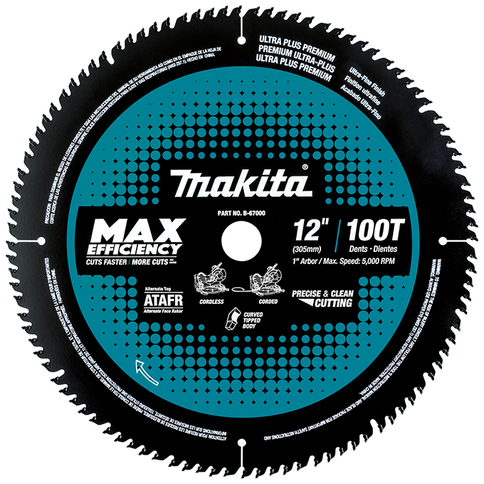 Max-Efficiency Ideal For Cordless Mitre Saw Blades
