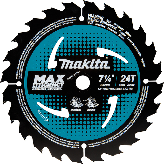 Max-Efficiency Ideal For Cordless Circular Saw Blades