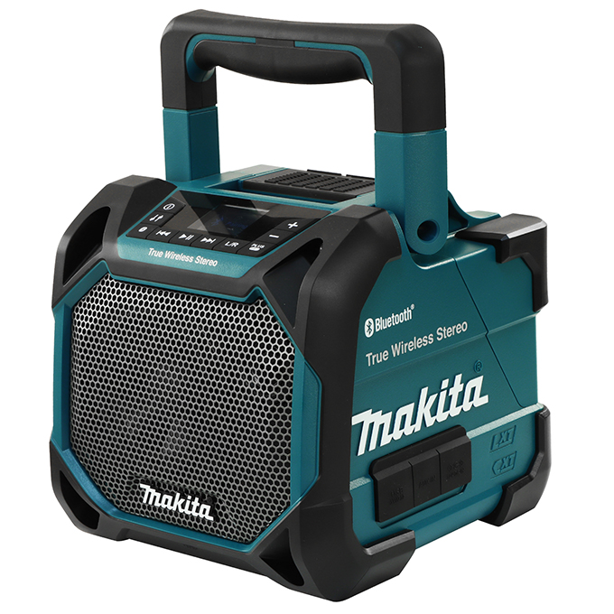 Cordless or Electric Jobsite Pairing Speaker with Bluetooth