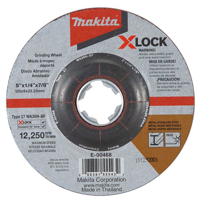 X-Lock Abrasive Grinding & Cutting Wheels