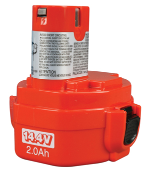 14.4V Ni-Cad Batteries