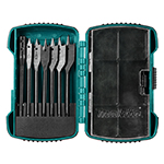 8 Pc Short Spade Bit Kit