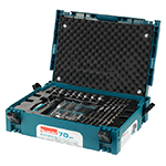 70 Pc Drill & Driver Bit Interlocking Accessory Kit