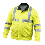 Cordless High-Visibility Fan Jacket with Brushless Motor