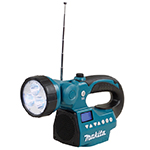 18V/14.4V Li-Ion LED Flashlight Radio