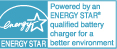 Powered by energy star saving