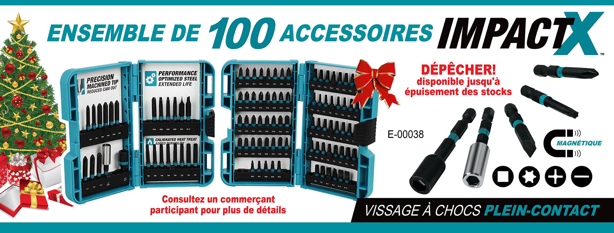ImapactX 100pc Kit