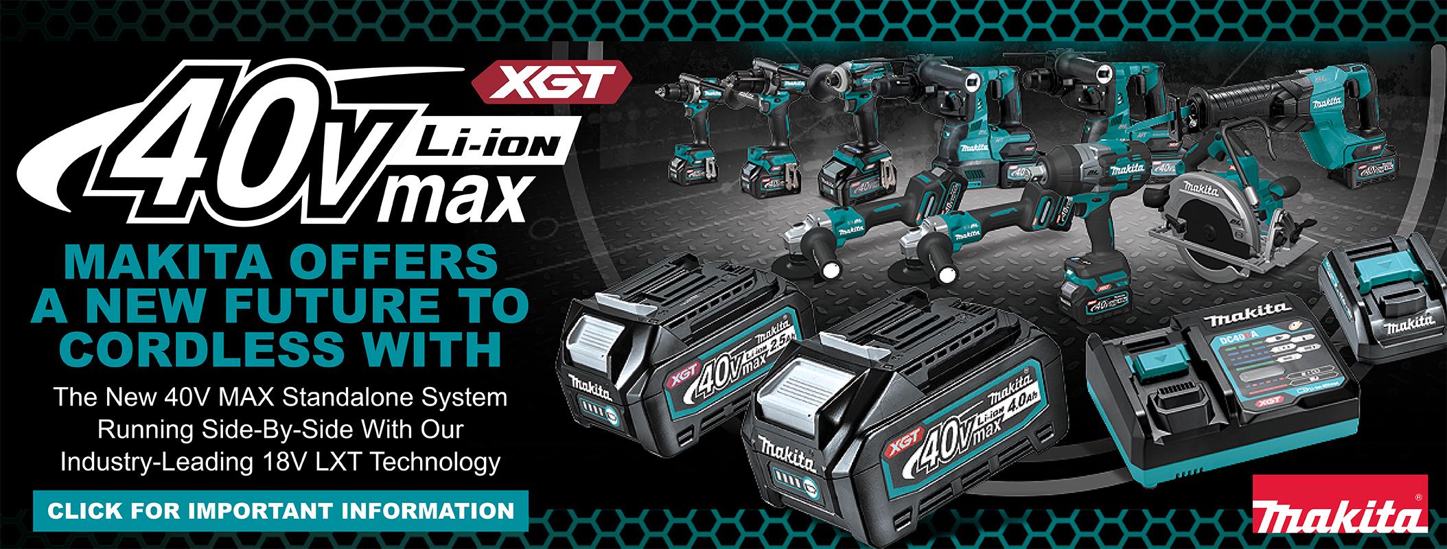 40V MAX XGT